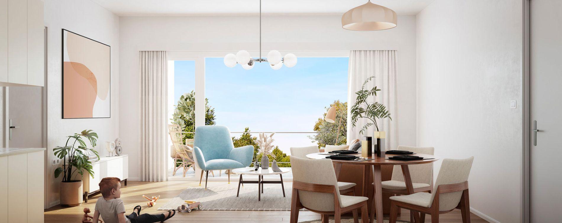 Tourcoing : programme immobilier neuve « Flow » en Loi Pinel (5)