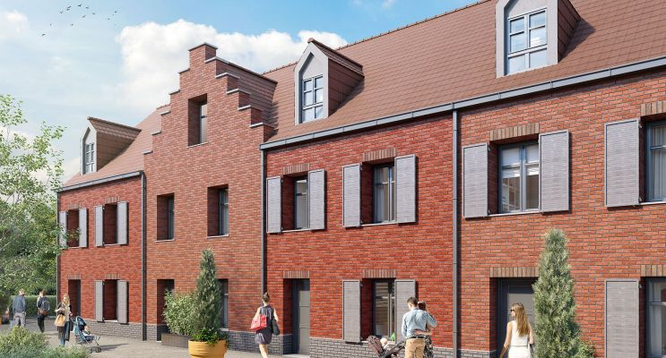 Tourcoing programme immobilier neuf « Le Carré Gambetta