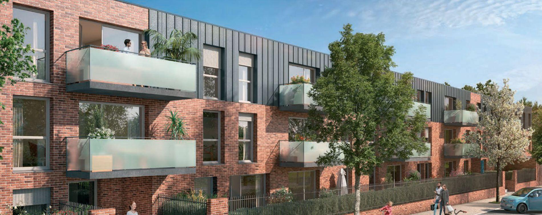 Tourcoing : programme immobilier neuve « Novo » en Loi Pinel (2)