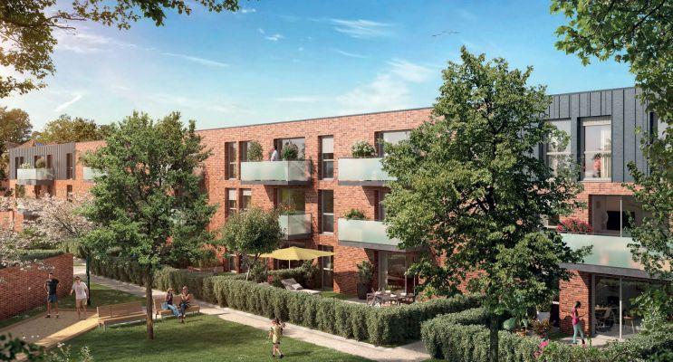 Photo du Résidence « Novo » programme immobilier neuf en Loi Pinel à Tourcoing
