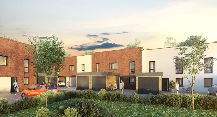 Tourcoing : programme immobilier neuf « Urban T - Maisons »