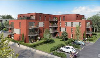Tourcoing : programme immobilier neuf « Urban T » en Loi Pinel