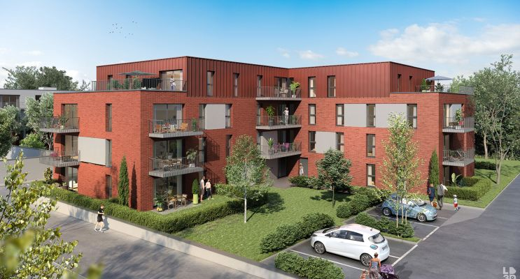 Tourcoing programme immobilier neuf « Urban T