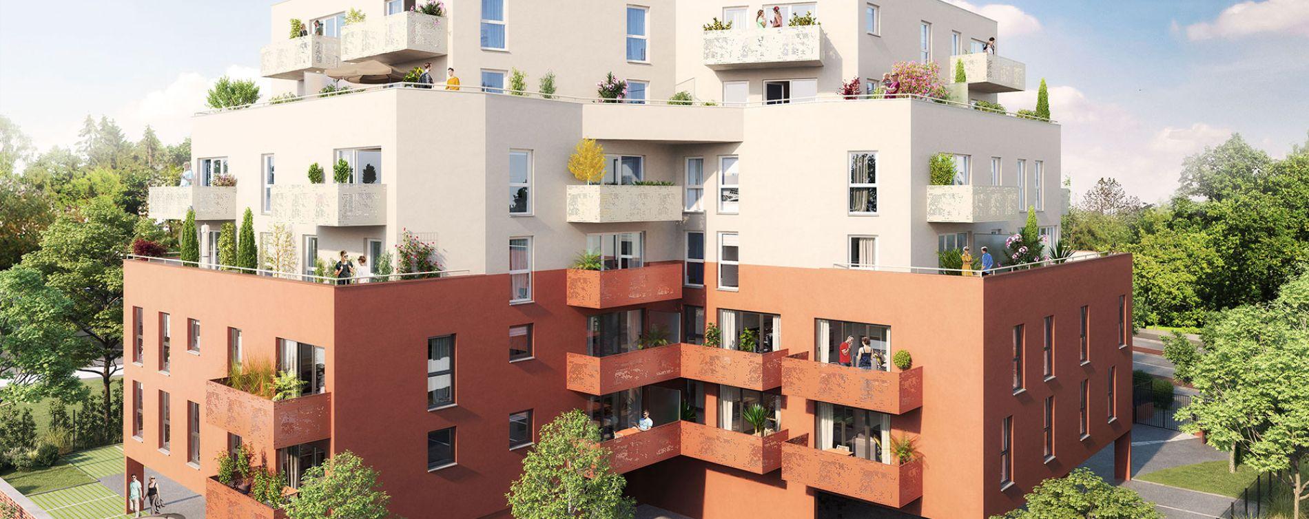 Valenciennes : programme immobilier neuve « Allure VALENCIENNES » en Loi Pinel