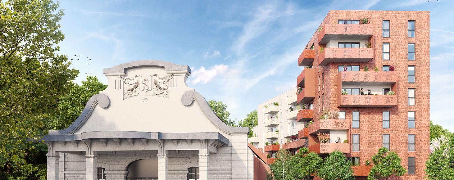 Valenciennes : programme immobilier neuve « Allure VALENCIENNES » en Loi Pinel (2)
