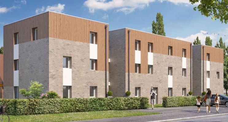 Photo du Résidence « Ecrin de Ville - Appartements » programme immobilier neuf en Loi Pinel à Valenciennes