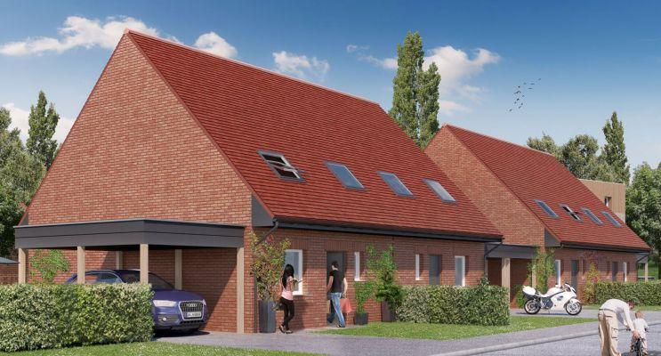 Photo du Résidence « Ecrin De Ville - Maisons » programme immobilier neuf en Loi Pinel à Valenciennes