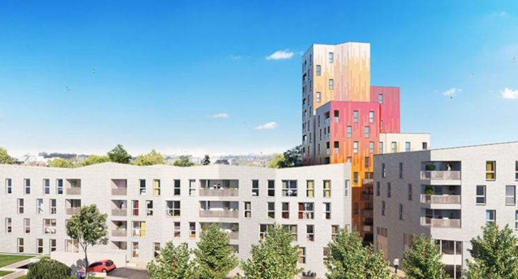 Résidence « Emergence 2Ème Tranche » programme immobilier neuf en Loi Pinel à Valenciennes
