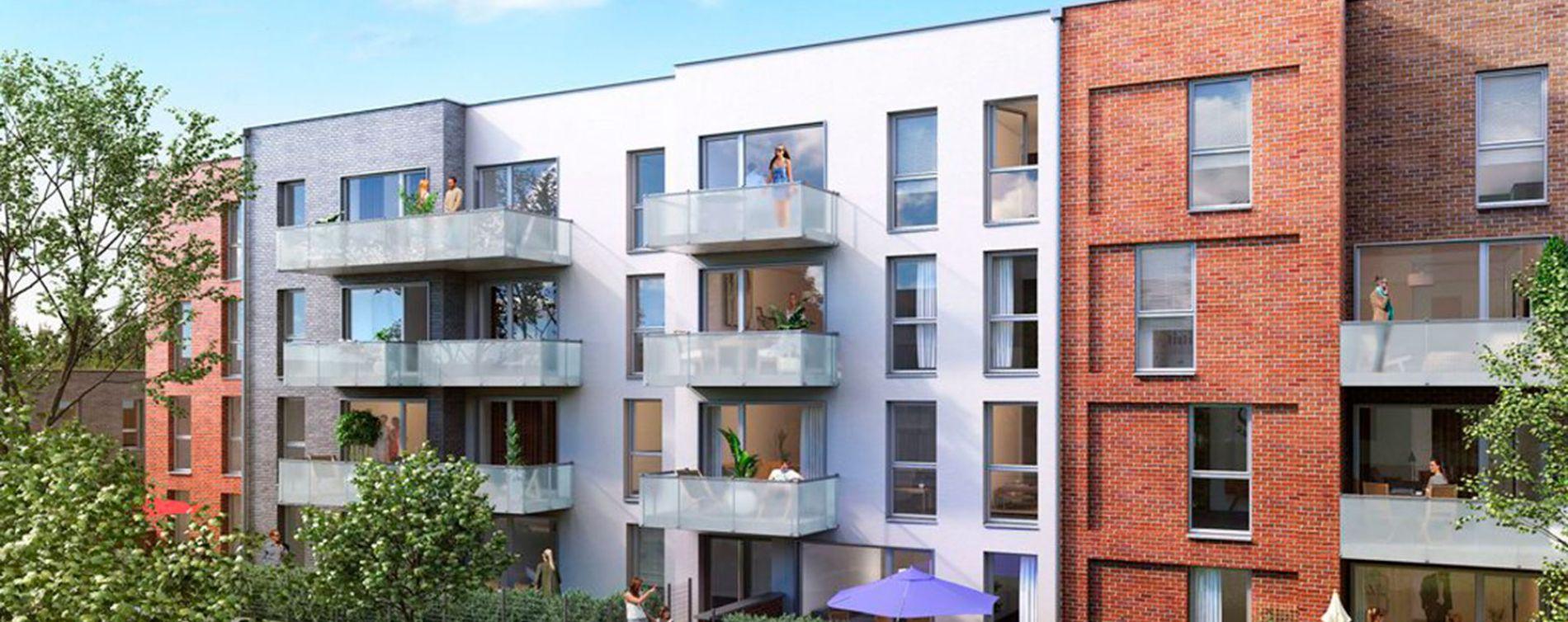 Valenciennes : programme immobilier neuve « Le Clos Macarez » en Loi Pinel