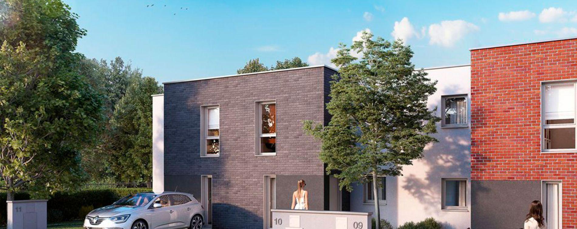 Valenciennes : programme immobilier neuve « Le Clos Macarez » en Loi Pinel (2)