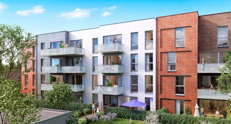 Valenciennes programme immobilier neuf « Le Clos Macarez » en Loi Pinel