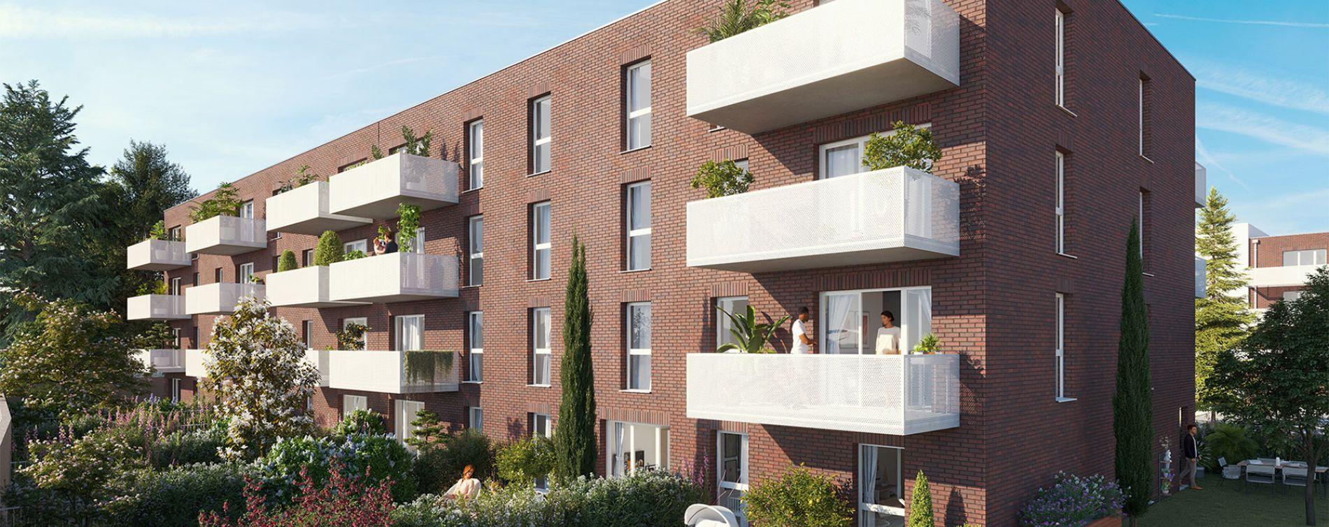 Valenciennes : programme immobilier neuve « Rivéa »