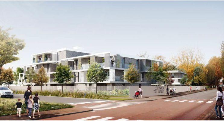 Photo du Résidence « Domaine de Montalembert » programme immobilier neuf en Loi Pinel à Villeneuve-d'Ascq