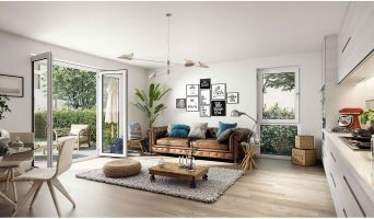 Résidence « La Closeraie » programme immobilier neuf en Loi Pinel à Villeneuve-d'Ascq n°3