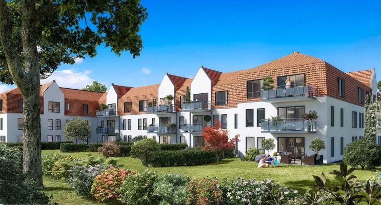 Résidence « La Closeraie » programme immobilier neuf en Loi Pinel à Villeneuve-d'Ascq n°2