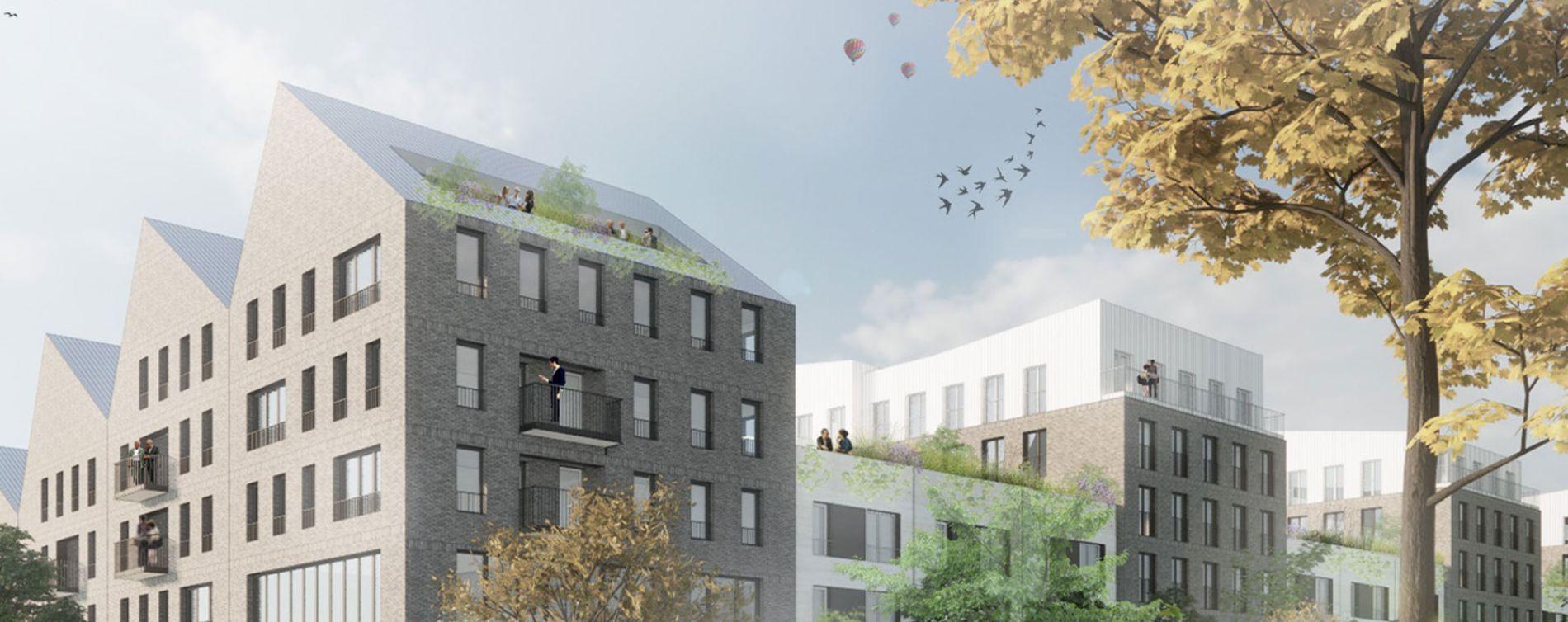 Villeneuve-d'Ascq : programme immobilier neuve « Le Tweed » en Nue Propriété
