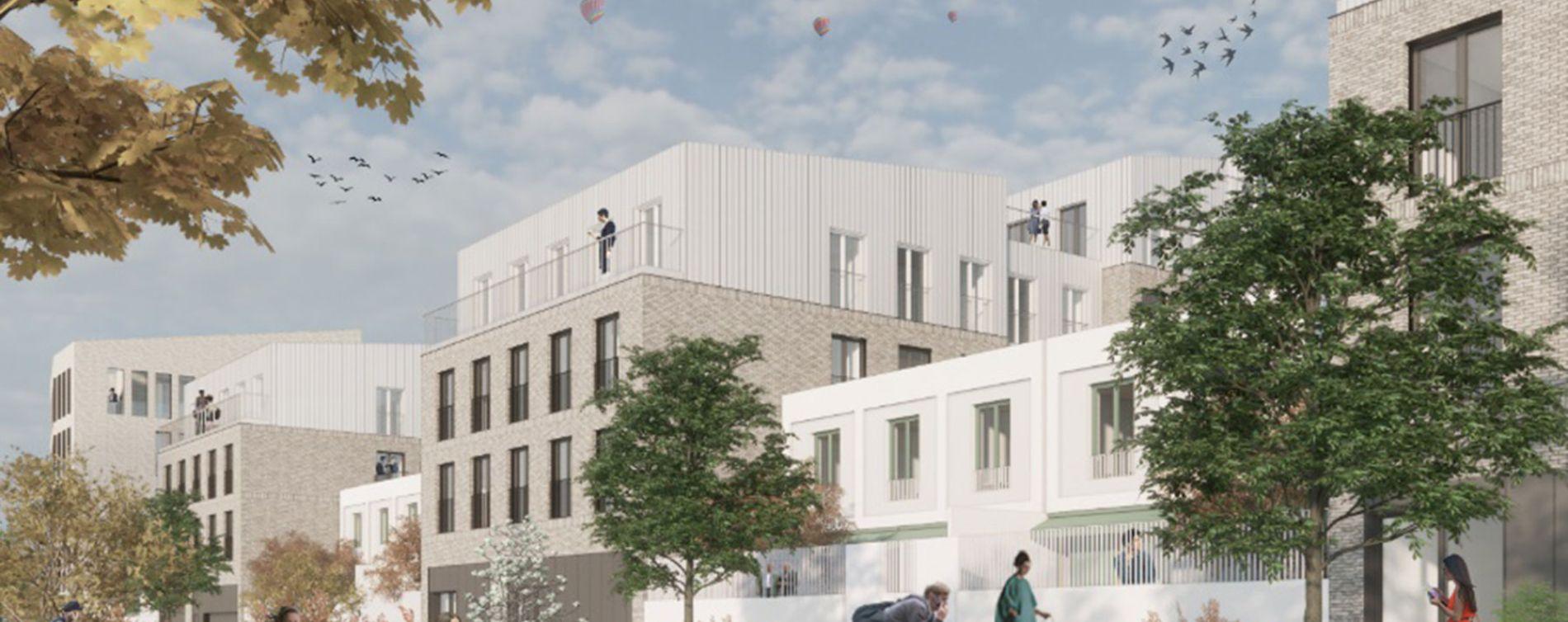 Villeneuve-d'Ascq : programme immobilier neuve « Le Tweed » en Nue Propriété (2)
