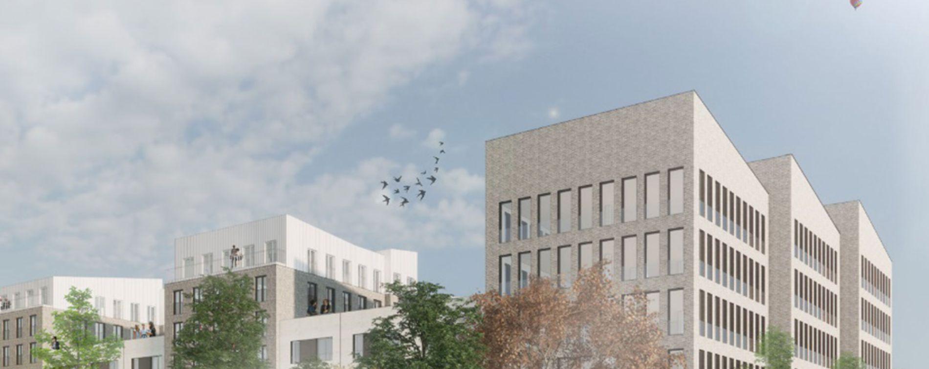 Villeneuve-d'Ascq : programme immobilier neuve « Le Tweed » en Nue Propriété (3)