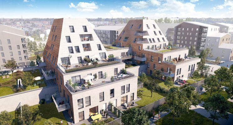 Résidence « L'Etoffe » programme immobilier neuf en Loi Pinel à Villeneuve-d'Ascq n°1