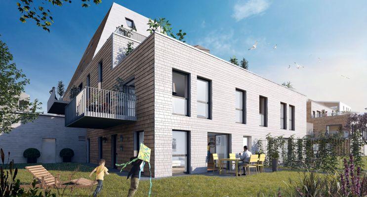 Résidence « L'Etoffe » programme immobilier neuf en Loi Pinel à Villeneuve-d'Ascq n°2
