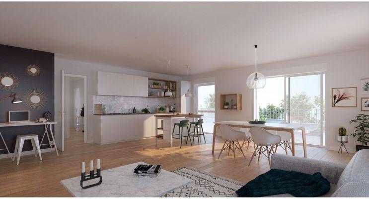 Résidence « L'Etoffe » programme immobilier neuf en Loi Pinel à Villeneuve-d'Ascq n°3