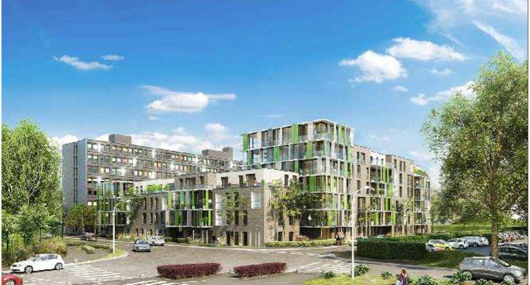 Photo du Résidence « Résidence du Croisé d'Ascq - Bât C » programme immobilier neuf en Loi Pinel à Villeneuve-d'Ascq