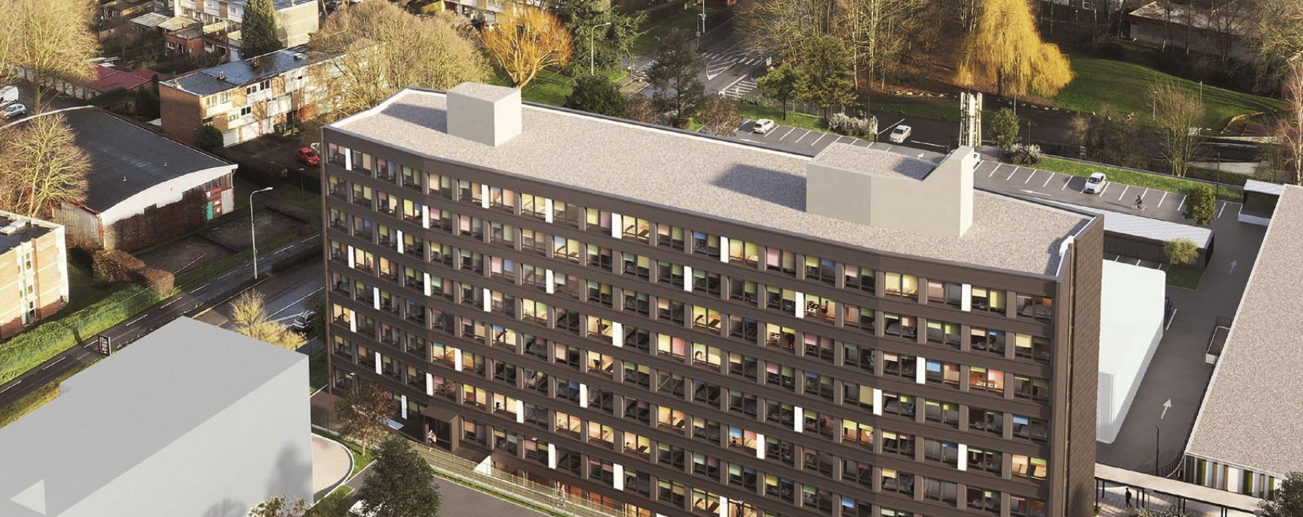 Villeneuve-d'Ascq : programme immobilier neuve « Résidence Trémière »