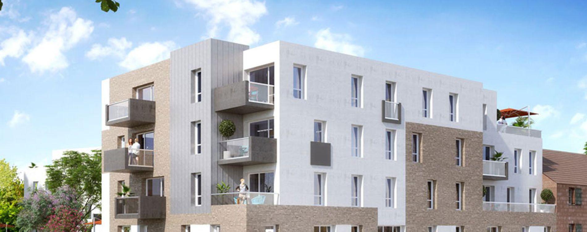 Wervicq-Sud : programme immobilier neuve « Intemporelle »