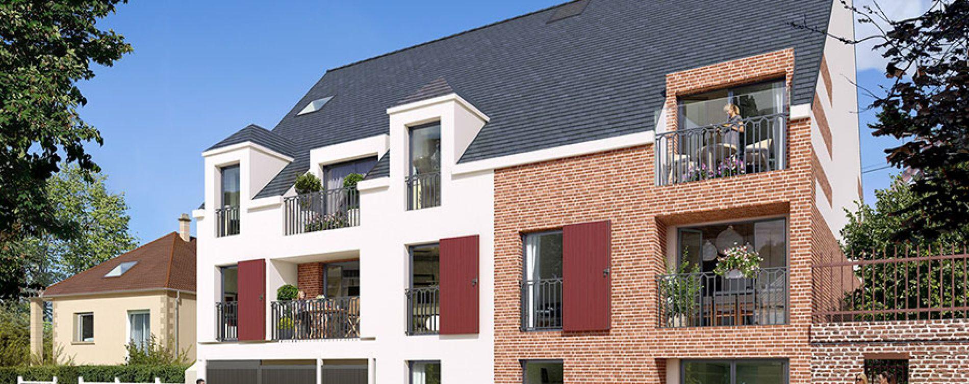 Beauvais : programme immobilier neuve « Le Clos de l'Horloge » en Loi Pinel (2)