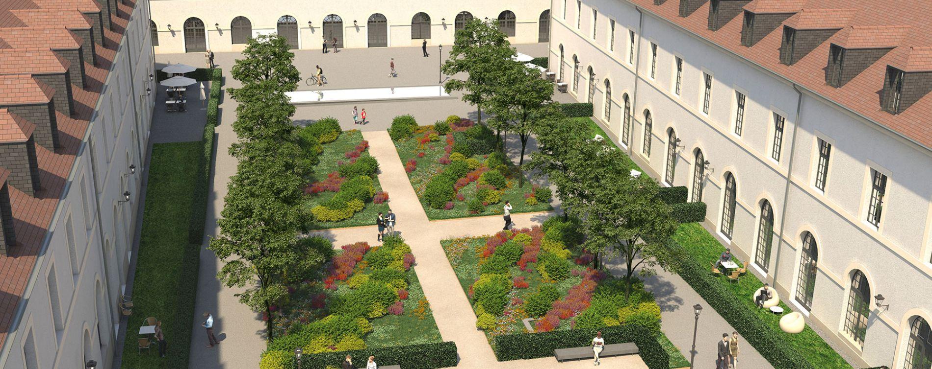Résidence Cour des Cavaliers à Compiègne