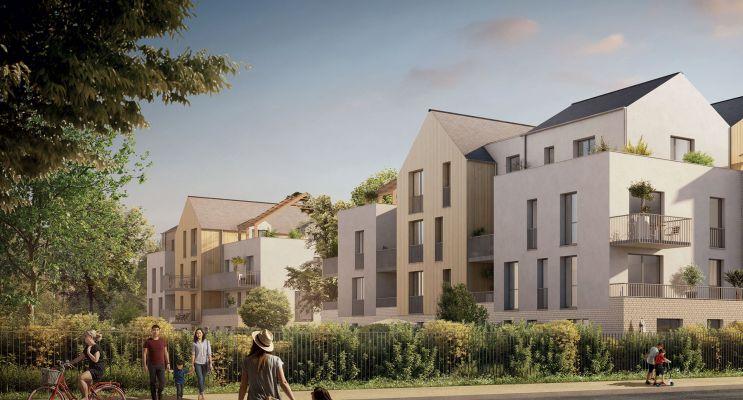 Compiègne : programme immobilier neuf « La Canopée » en Loi Pinel