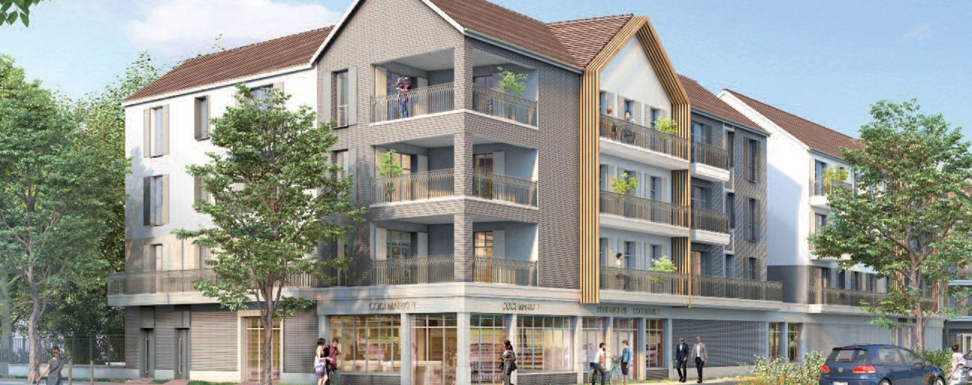 Compiègne : programme immobilier neuve « Le Domaine d'Eugénie »