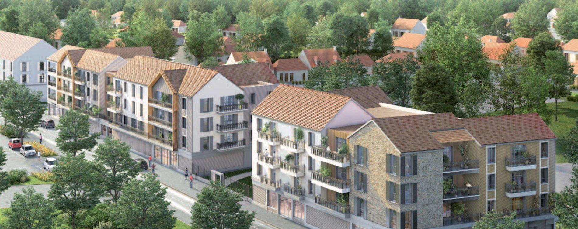 Compiègne : programme immobilier neuve « Le Domaine d'Eugénie » (2)