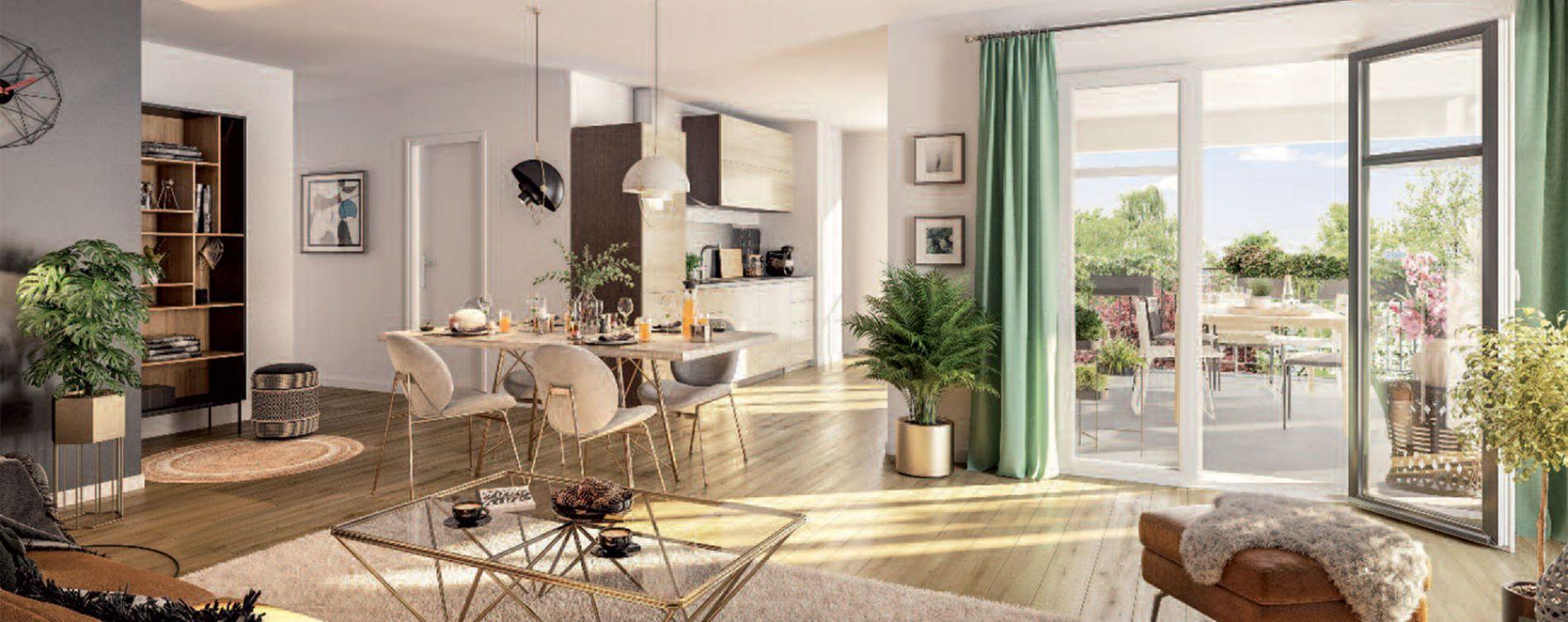 Compiègne : programme immobilier neuve « Le Domaine d'Eugénie » (3)