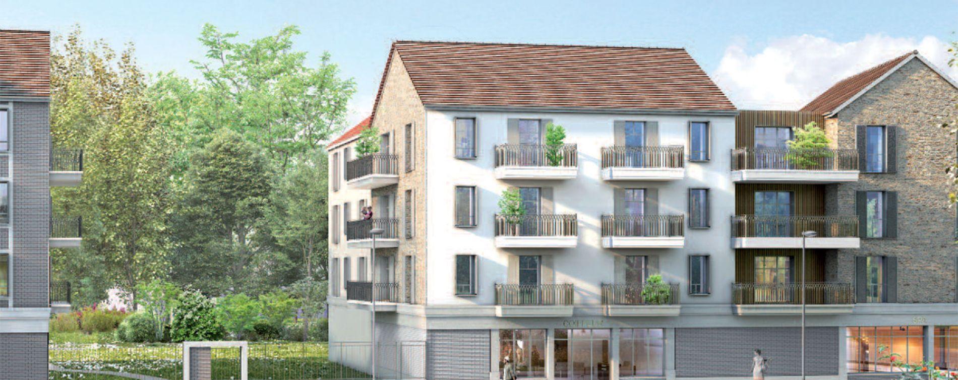 Compiègne : programme immobilier neuve « Le Domaine d'Eugénie » (4)