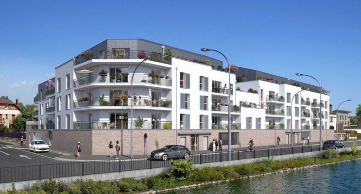 Photo du Résidence « Les Terrasses de l'Oise » programme immobilier neuf en Loi Pinel à Creil