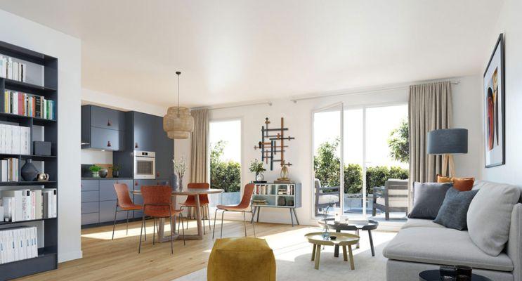 Résidence « Les Terrasses De L'Oise » programme immobilier neuf en Loi Pinel à Creil n°2