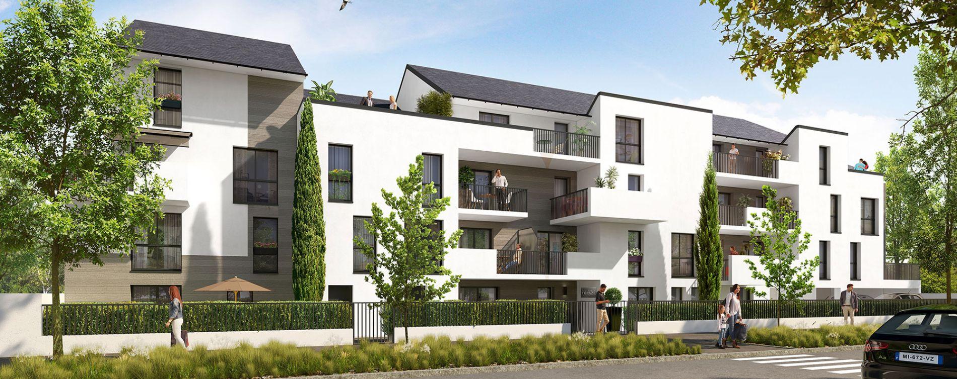 Crépy-en-Valois : programme immobilier neuve « Topaze » en Loi Pinel