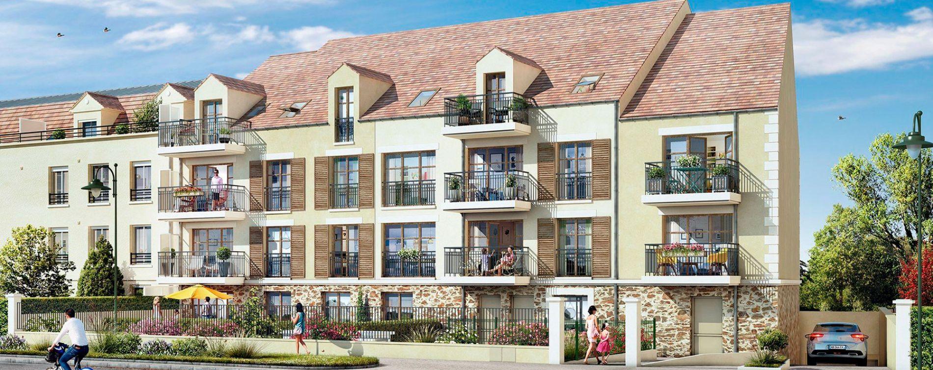 Lamorlaye : programme immobilier neuve « Villarmonie » en Loi Pinel