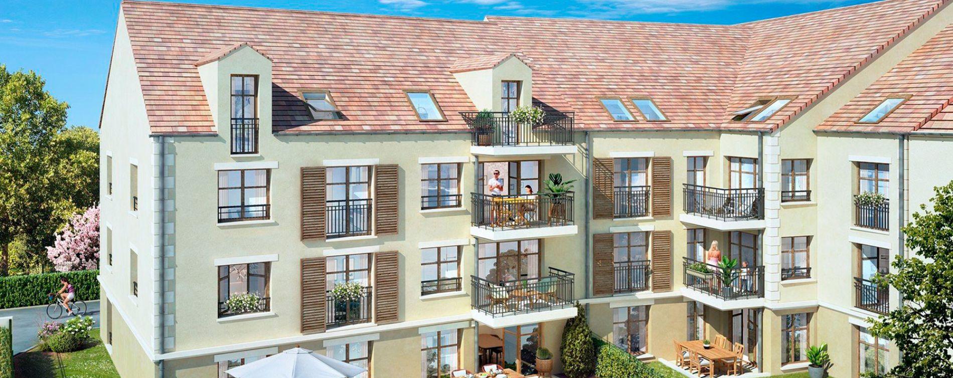 Lamorlaye : programme immobilier neuve « Villarmonie » en Loi Pinel (2)