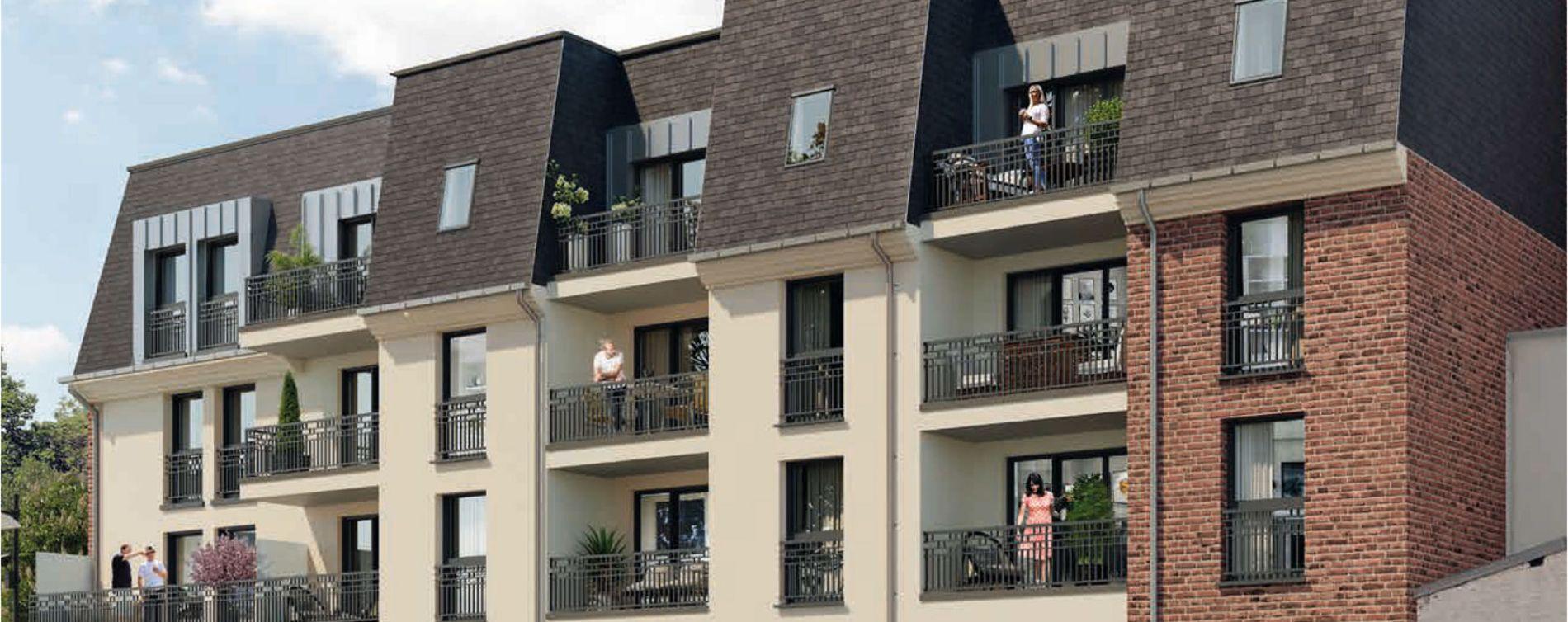 Margny-lès-Compiègne : programme immobilier neuve « Les 2 Rives » en Loi Pinel