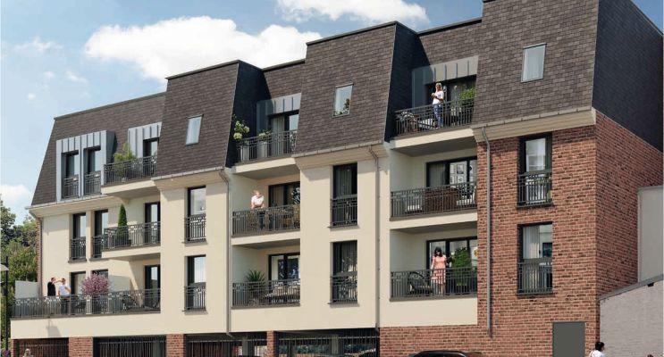 Margny-lès-Compiègne programme immobilier neuf « Les 2 Rives » en Loi Pinel