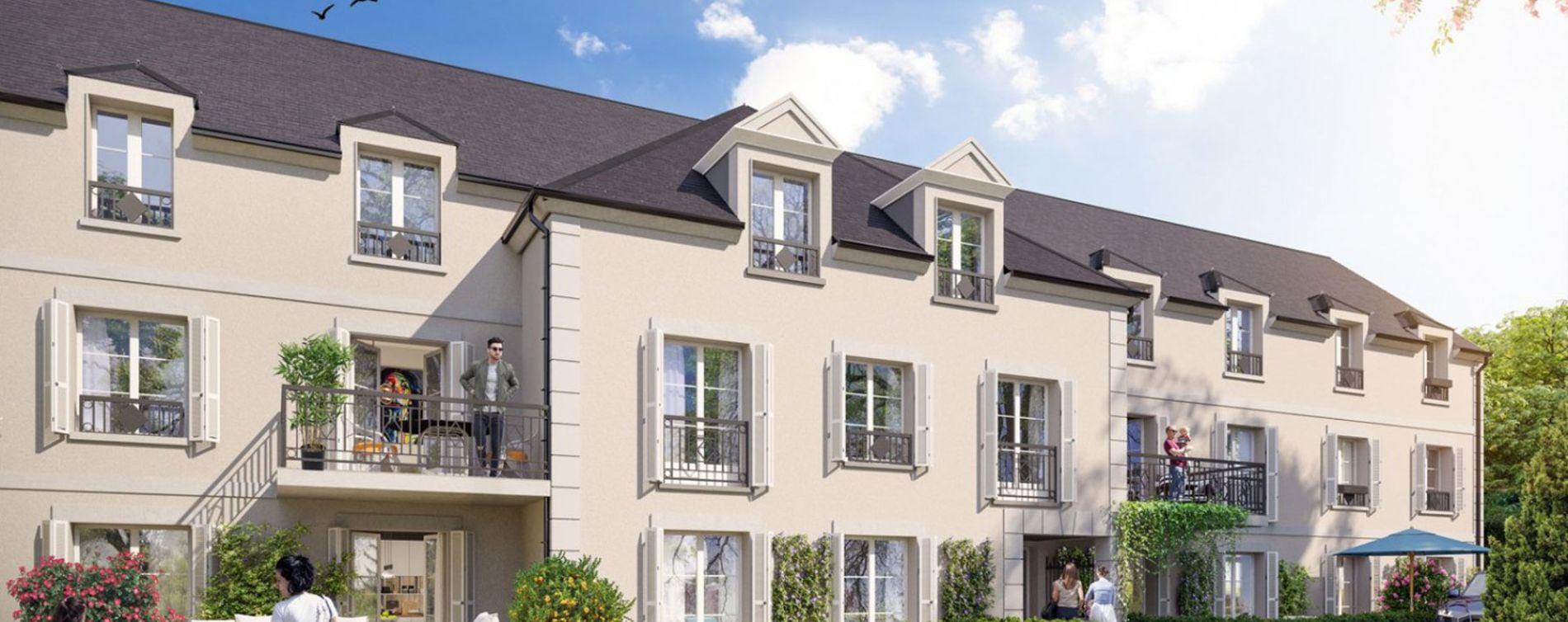 Pont-Sainte-Maxence : programme immobilier neuve « La Jonquoire »