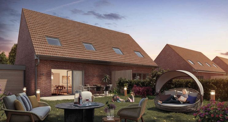 Photo du Résidence « Le Village Saint Eloi » programme immobilier neuf en Loi Pinel à Ribécourt-Dreslincourt