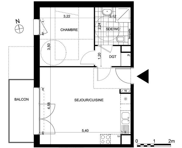Appartement t2 saint maximin n 137 ouest for Achat maison val d oise