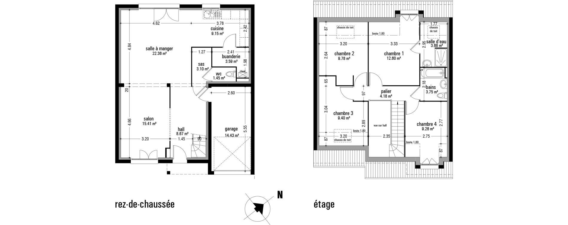 Maison T5 de 116,38 m2 à Anzin-Saint-Aubin Anzin st aubin