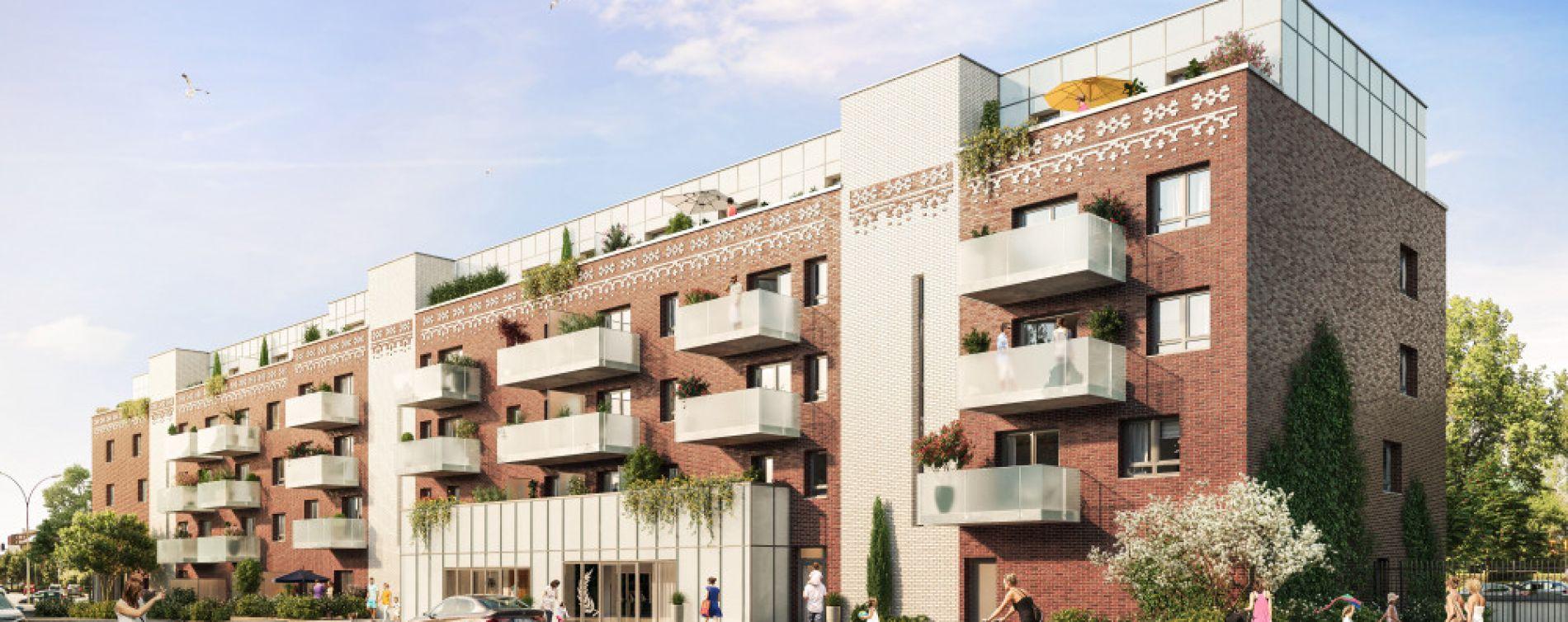 Berck : programme immobilier neuve « Alteia - Bâtiment E »