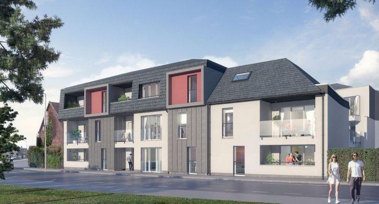 Photo du Résidence « Fleur de Sel » programme immobilier neuf à Berck