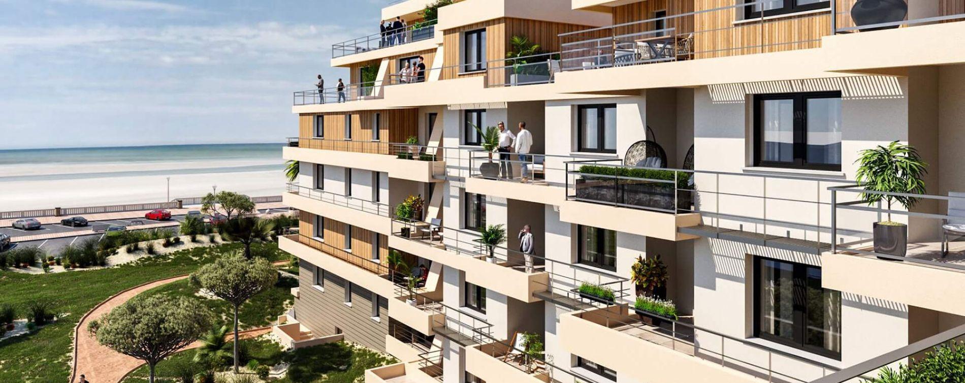 Cucq : programme immobilier neuve « Face Mer »