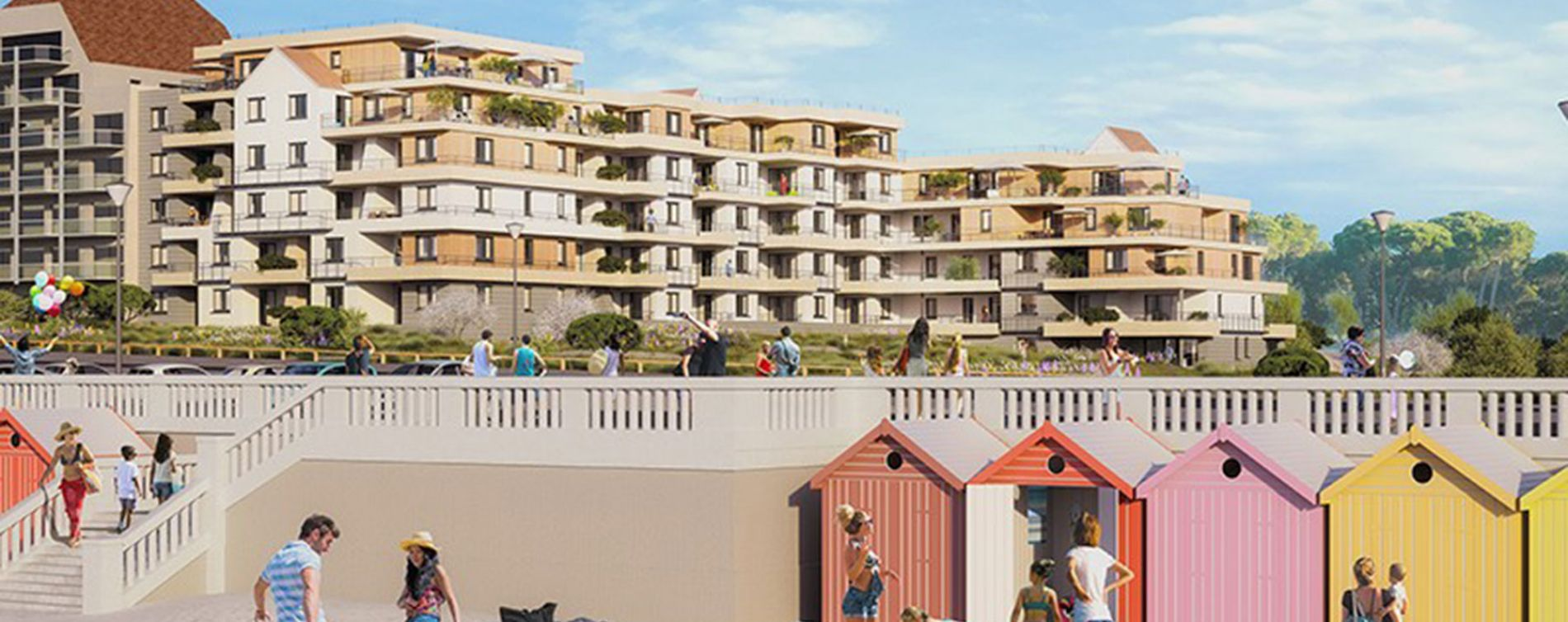 Cucq : programme immobilier neuve « Face Mer » (2)
